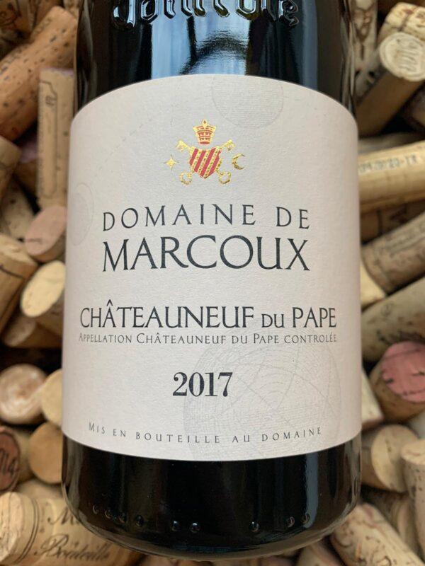 Domaine de Marcoux Chateauneuf du Pape 2017