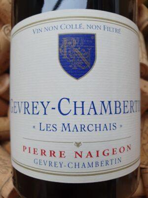 Pierre Naigeon Gevrey Chambertin Les Marchais 2012