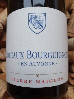 """Pierre Naigeon Coteaux Bourguignons Blanc """"En Auvonne"""" 2018"""
