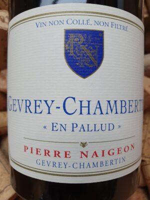Pierre Naigeon Gevrey Chambertin En Pallud 2015