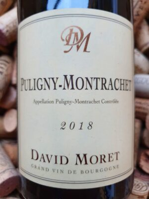 David Moret Puligny Montrachet 2018