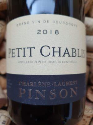 Domaine Pinson Petit Chablis 2018