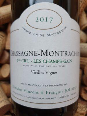 V&F Jouard Chassagne Montrachet blanc 2017