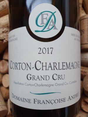 Francoise Andre Corton Charlemagne Grand Cru 2017