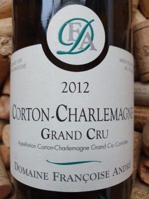 Francoise Andre Corton Charlemagne Grand Cru 2012