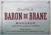 Chateau Brane Cantenac Baron de Brane Margaux 2015