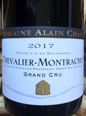 Alain Chavy Grand Cru Chevalier Montrachet 2017
