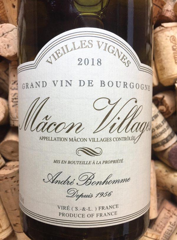 Andre Bonhomme Macon Blanc Vieilles Vignes 2018