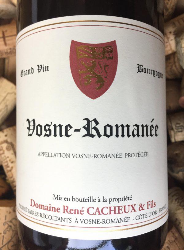 René Cacheux Vosne Romanée 2017