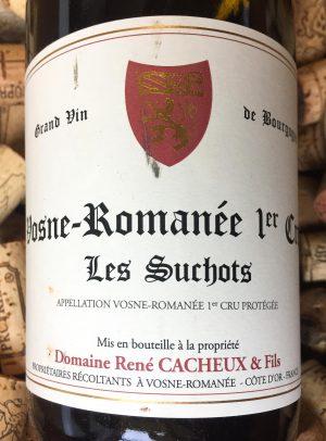 René Cacheux Vosne Romanée Premier Cru Les Suchots 2016