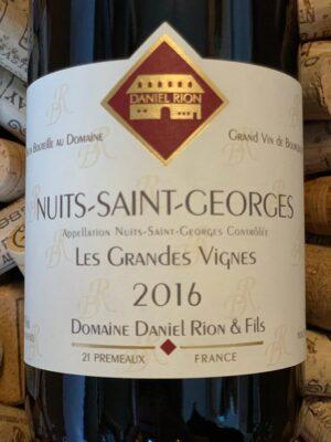 Daniel Rion Nuits Saint Georges Les Grandes Vignes 2016