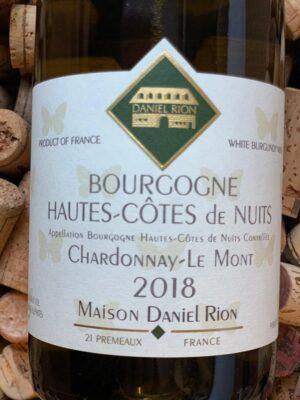 Daniel Rion Bourgogne Hautes-Côtes de Nuits Blanc 2018