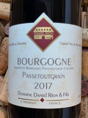 Daniel Rion Bourgogne Passetoutgrains 2017