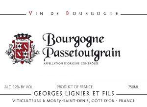 Georges Lignier Bourgogne Passetoutgrains 2017