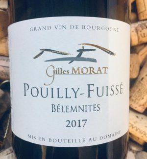 Gilles Morat Pouilly Fuisse Belemnites 2018