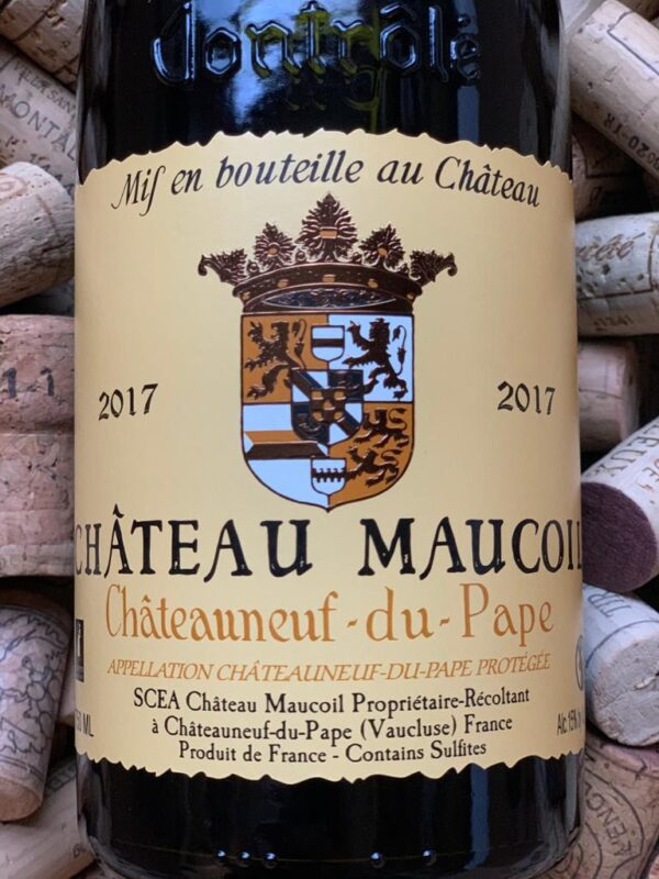 Chateau Maucoil Chateauneuf du Pape Rouge Tradition 2017