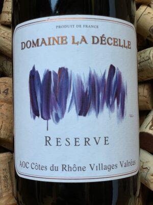 Domaine la Decelle Cotes du Rhone Villages Valreas Rouge 2016