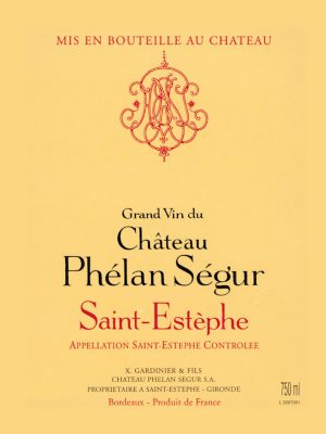 Chateau Phelan Segur Frank Phelan Saint Estephe 2016