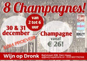 Champagne proeverij Wijn op Dronk