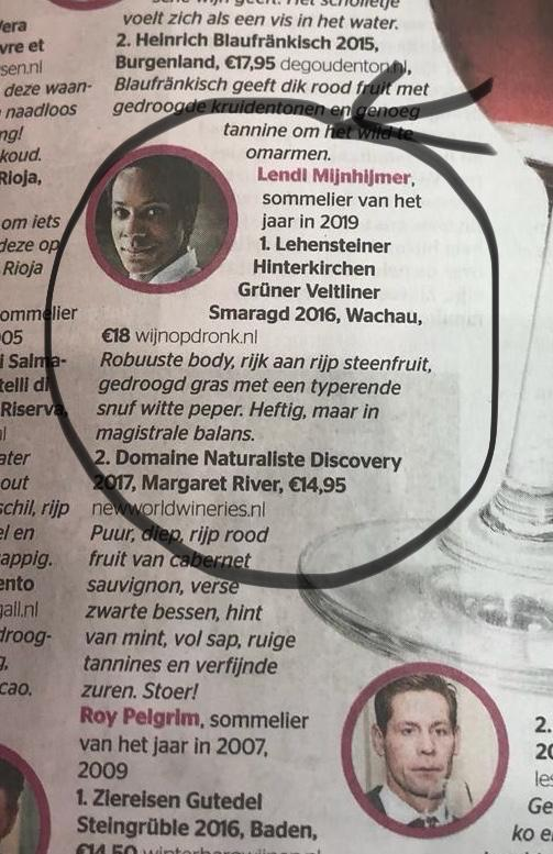 Lehensteiner in telegraaf