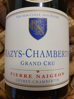Pierre Naigeon Mazys Chambertin Grand Cru 2015