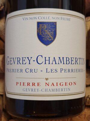 Pierre Naigeon Gevrey Chambertin Premier Cru Perrières 2010