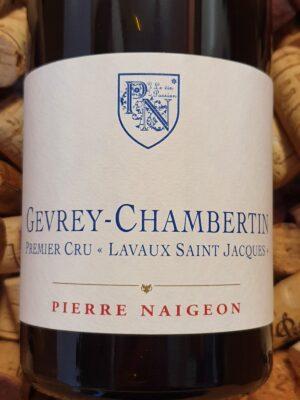 Pierre Naigeon Gevrey Chambertin Premier Cru Lavaux St Jacques 2010