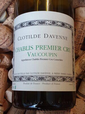 Clotilde Davenne Chablis Premier Cru Vaucoupin 2016