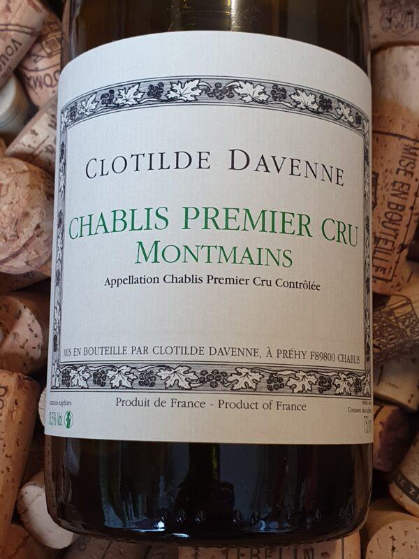 Clotilde Davenne Chablis Premier Cru Montmains 2018