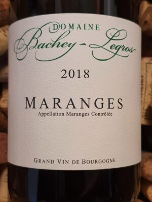 Domaine Bachey Legros Maranges blanc 2018