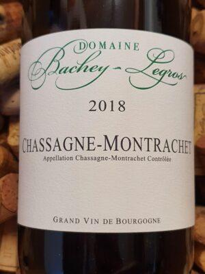 Domaine Bachey Legros Chassagne Montrachet 2018
