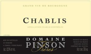 Domaine Pinson Chablis 2018