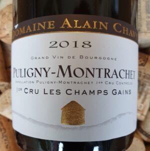 Alain Chavy Puligny Montrachet Premier Cru Champs Gain 2018