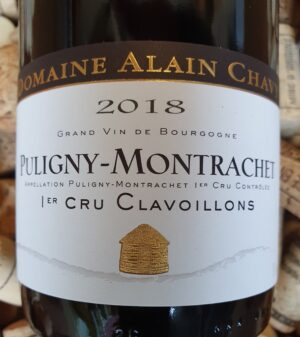 Alain Chavy Puligny Montrachet Premier Cru Clavoillons 2018