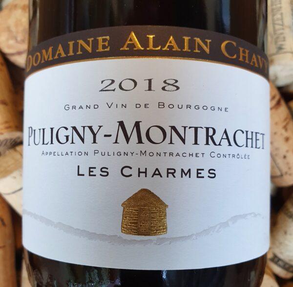 Alain Chavy Puligny Montrachet Charmes 2018
