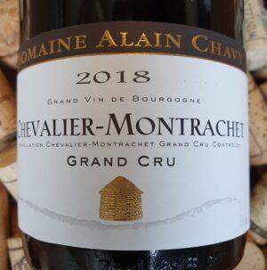 Alain Chavy Grand Cru Chevalier Montrachet 2018