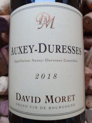 David Moret Auxey Duresses Blanc 2018