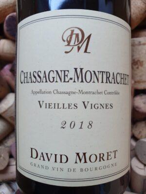 David Moret Chassagne Montrachet Vieilles Vignes 2018