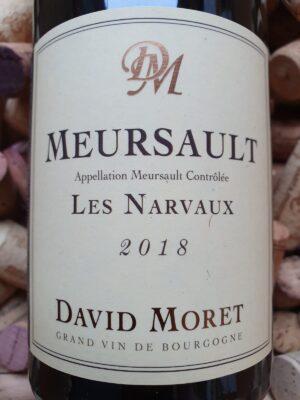 David Moret Meursault Les Narvaux 2018