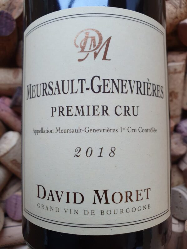 David Moret Meursault Premier Cru Les Genevrieres 2018