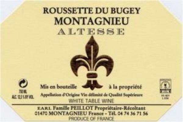 Franck Peillot Altesse Roussette de Bugey Montagnieu