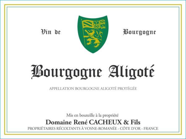 Cacheux Bourgogne Aligote 2019