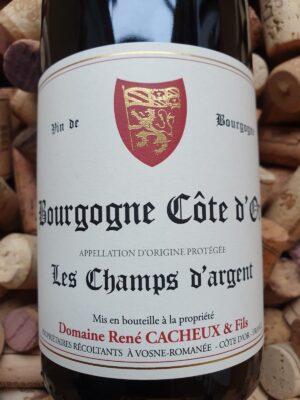 """René Cacheux Bourgogne Côte d'Or """"Les Champs d'Argent"""" 2018"""
