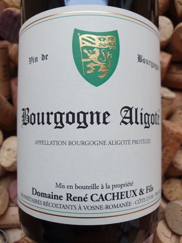 René Cacheux Bourgogne Aligoté 2019