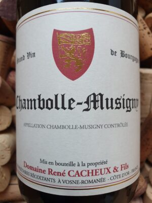 René Cacheux Chambolle Musigny 2014