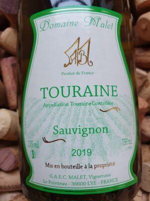 Domaine Malet Sauvignon Blanc Touraine 2019