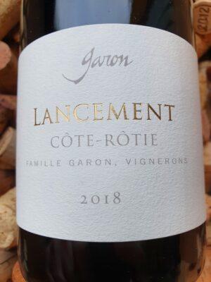 Domaine Garon Cote Rotie Lancement 2018