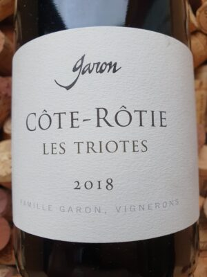 Domaine Garon Cote Rotie Les Triotes 2018