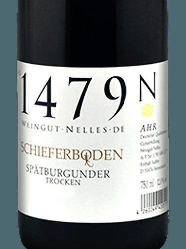 Nelles Spatburgunder Schieferboden Ahr 2018