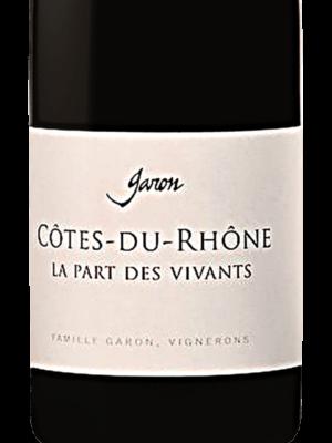 Domaine Garon Cote du Rhone La Part des Vivants 2018